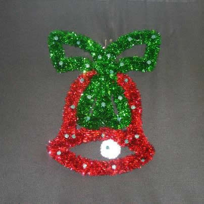 Bell with Bow Red/Green
